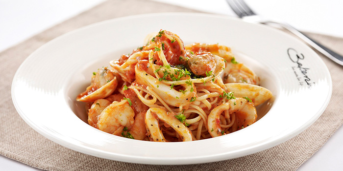 Seafood Pasta from Bakerzin @ United Square in Novena, Singapore