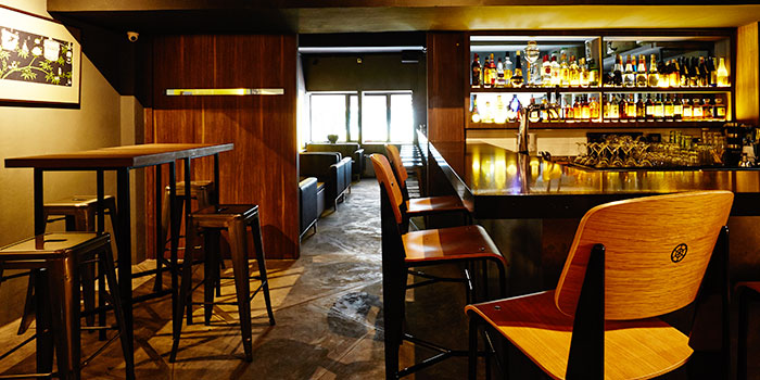 Second Level Bar of Bōruto in Chinatown, Singapore