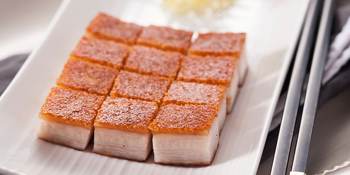 Crispy Roasted Pork, Lei Garden, Wan Chai, Hong Kong