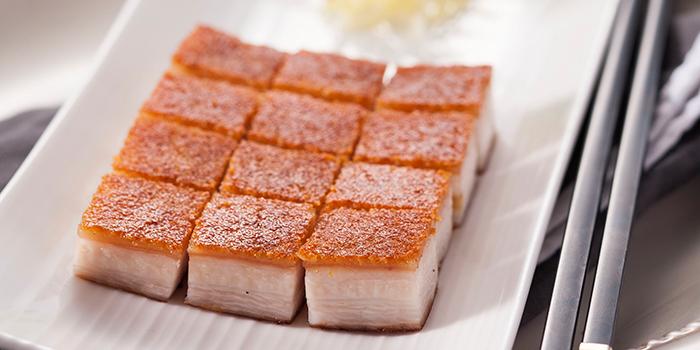 Crispy Roasted Pork, Lei Garden, North Point, Hong Kong