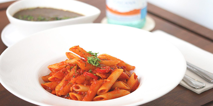 Pasta from Da Paolo HQ Club Street in Raffles Place, Singapore