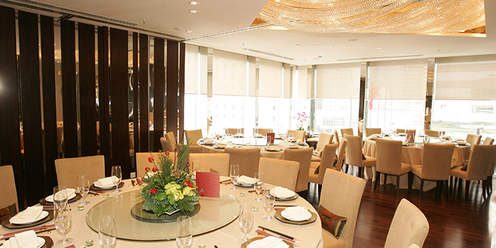 Dining Area of Lei Garden, Central, Hong Kong