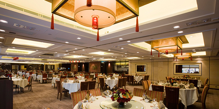 Dining Area of Lei Garden, Kowloon Bay, Hong Kong