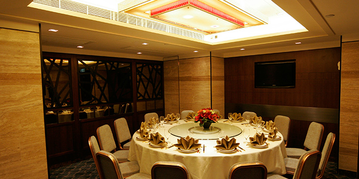 Dining Area of Lei Garden, North Point, Hong Kong