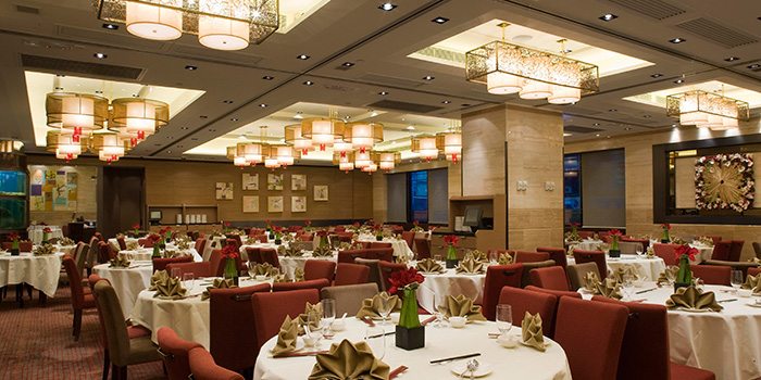 Dining Area of Lei Garden, Wan Chai, Hong Kong
