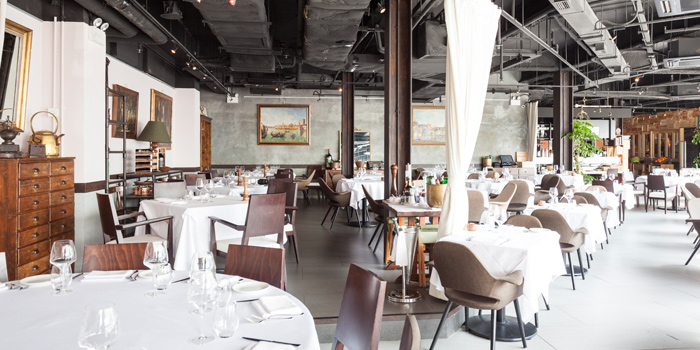 Dining Area of Gia Trattoria Italiana, Wan Chai, Hong Kong