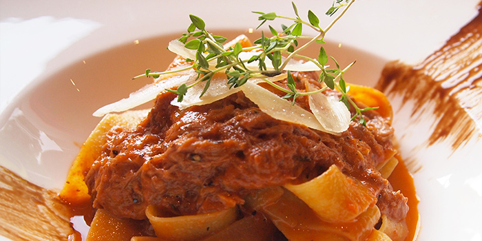 Slow-braised Duck Pappardelle from Spruce serving American cuisine at Upper Bukit Timah in Singapore