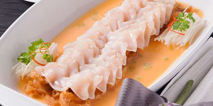 Geo-Duck Clam with Lobster Soup, Lei Garden, Kowloon Bay, Hong Kong
