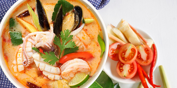 Tom Yum Talay from Gin Khao (One Raffles Place) in Raffles Place, Singapore