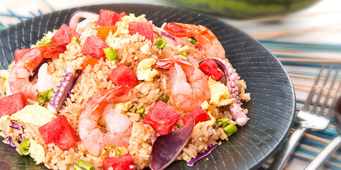 Watermelon Fried Rice from Gin Khao (One Raffles Place) in Raffles Place, Singapore