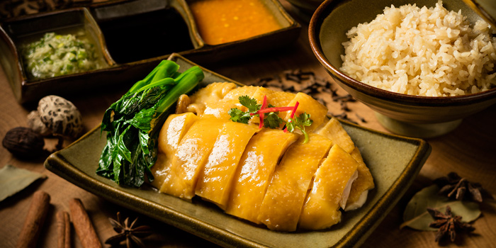 Hainanese Chicken Hori, Grand Cafe, Wan Chai, Hong Kong