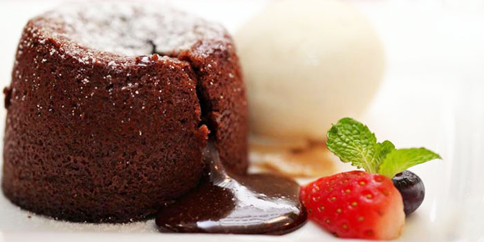 Chocolate Lava Cake from PocoLoco Microbrewery in Jurong, Singapore