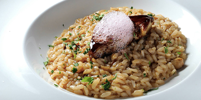 Risotto with Foie Gras from Ristorante Takada in Queenstown, Singapore