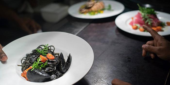 Squid Ink Pasta from RUBATO serving Italian cuisine in Bukit Timah, Singapore