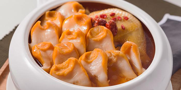 Sea Whelk Soup with Wolfberries, Lei Garden, Wan Chai, Hong Kong
