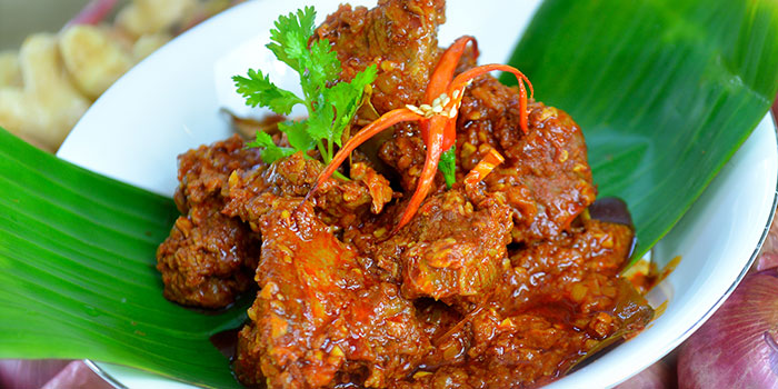Beef Rendang from The Peranakan in Orchard, Singapore