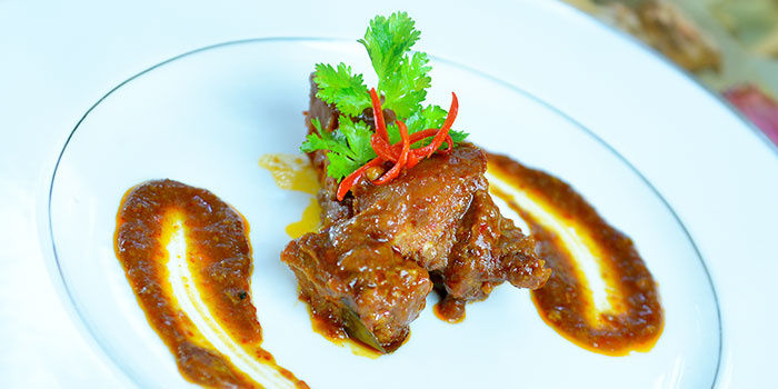 Satay Babi Sum Chan from The Peranakan in Orchard, Singapore