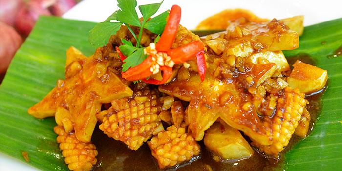 Sotong Masak Ayam from The Peranakan in Orchard, Singapore
