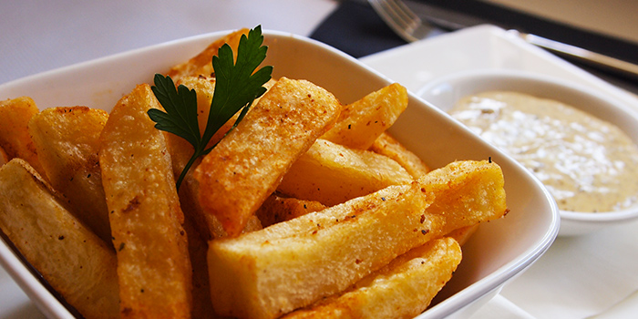 Truffled Béarnaise Fries from Spruce serving American cuisine at Upper Bukit Timah in Singapore