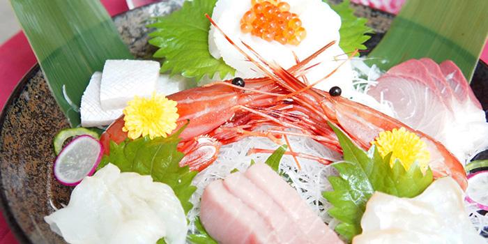 Sashimi from Hanashizuku Japanese Cuisine at Cuppage Plaza in Orchard, Singapore