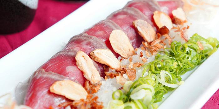 Tuna from Hanashizuku Japanese Cuisine at Cuppage Plaza in Orchard, Singapore
