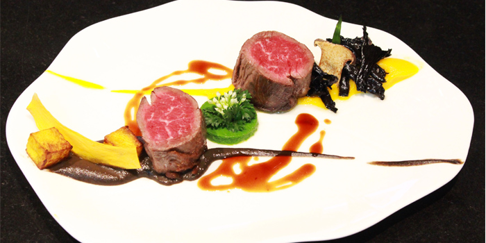 Pan Seared Beef Fillet from J