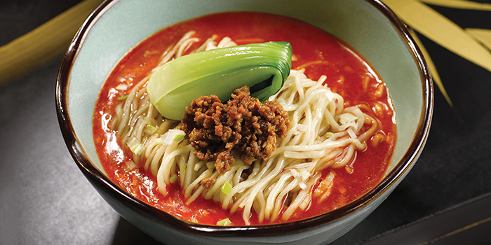 Spicy Soup Noodle from Shisen Hanten by Chen Kentaro at Mandarin Orchard Singapore in Orchard, Singapore