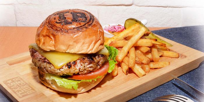 Smoked Cheddar Cheese Burger, Texas Burger, Tin Hau, Hong Kong