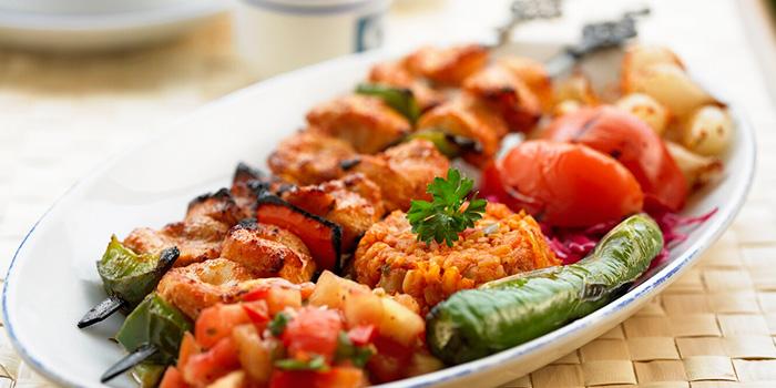 Chicken Kebab from Sofra Turkish Cafe & Restaurant in Bugis, Singapore