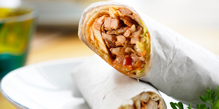 Chicken Wrap from Sofra Turkish Cafe & Restaurant in Bugis, Singapore