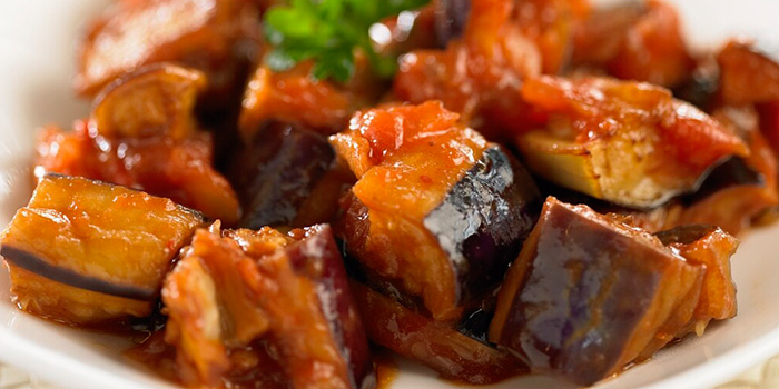 Eggplant from Sofra Turkish Cafe & Restaurant in Bugis, Singapore