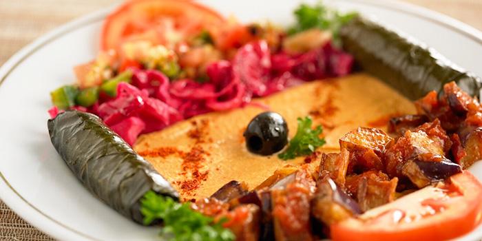 Platter from Sofra Turkish Cafe & Restaurant in Bugis, Singapore