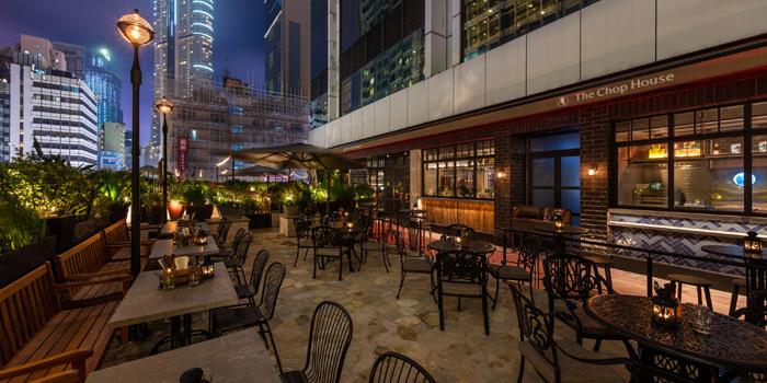 Terrace, The Chop House, Tsim Sha Tsui, Hong Kong