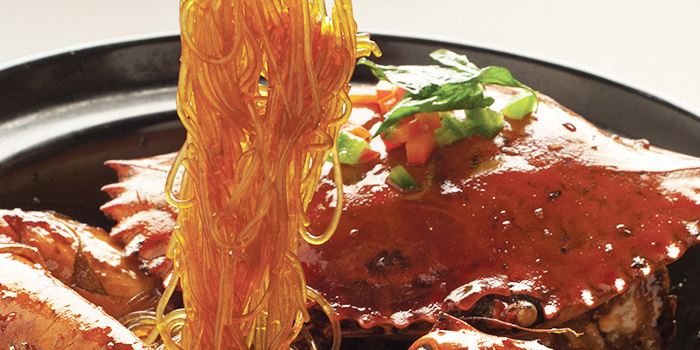 Crab with Glass Noodles from TungLok XiHe Peking Duck (The Grandstand) in Bukit Timah, Singapore