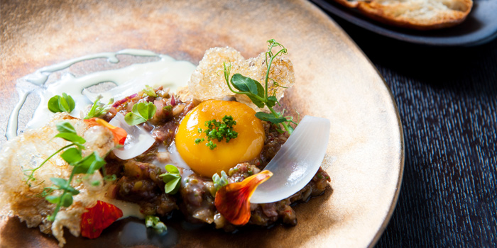 Wagyu Beef Tartare from Water Library Brasserie at Central Embassy, Bangkok