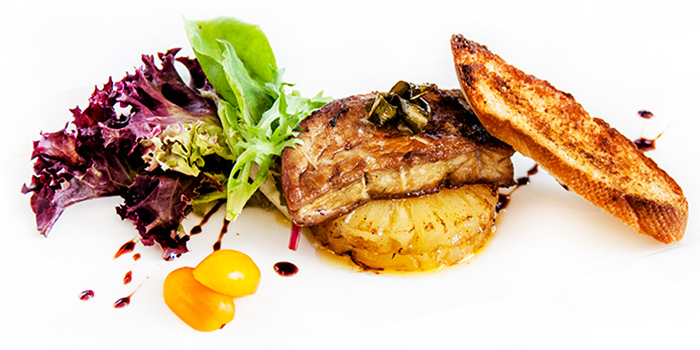 Pan Seared Foie Gras from Wave House Sentosa in Sentosa, Singapore
