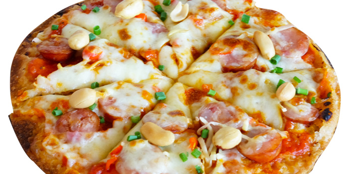 Baby Pizza Hawaian from Kelly by Audrey Central Plaza Ladprao, Bangkok