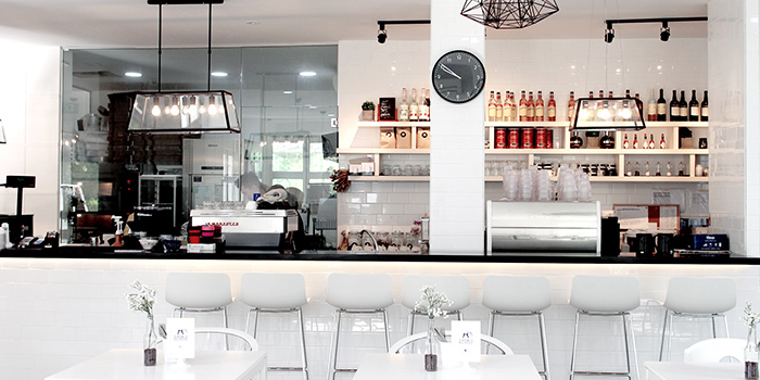 Counter Seating of Boufe Boutique Cafe in Tanglin, Singapore
