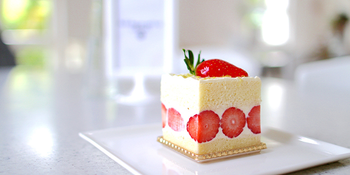 Strawberry Shortcake from Boufe Boutique Cafe in Tanglin, Singapore