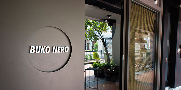 Entrance of Buko Nero in Tanjong Pagar, Singapore