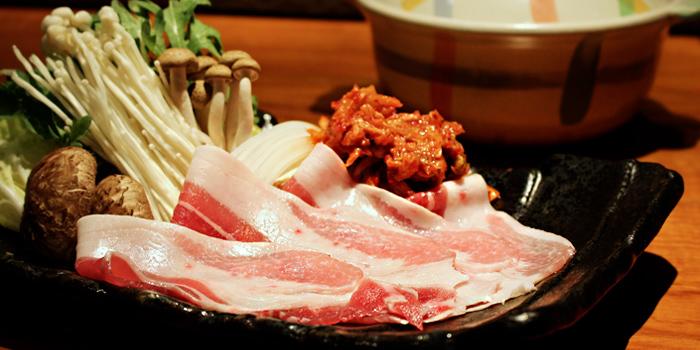 Buta Kimchi Nabe from Hanashizuku Japanese Cuisine at Cuppage Plaza in Orchard, Singapore