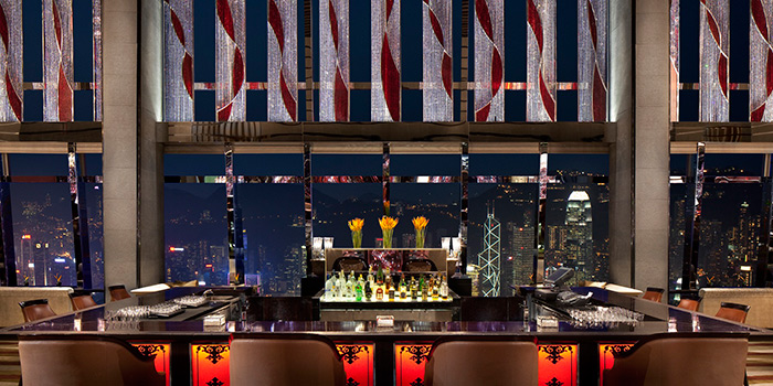 Champagne Bar of The Lounge & Bar, Tsim Sha Tsui, Hong Kong