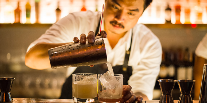 Cocktails from Touché Hombre in Thonglor, Bangkok
