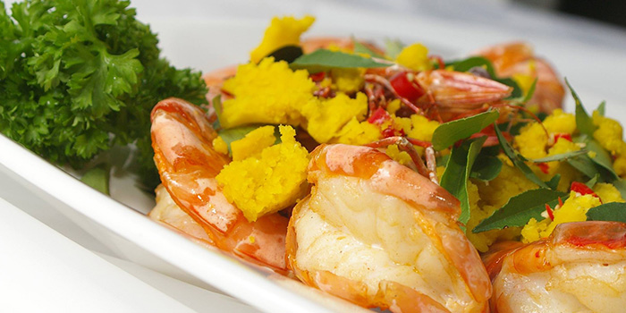 Grilled Prawns from Crab Party in Yio Chu Kang, Singapore