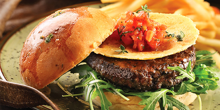 Dry Aged Burger from District 10 (Suntec City) in Promenade, Singapore
