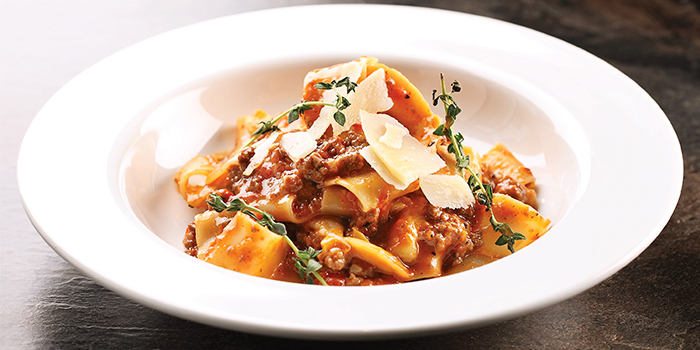 Pappardelle with Black Angus from District 10 (Suntec City) in Promenade, Singapore