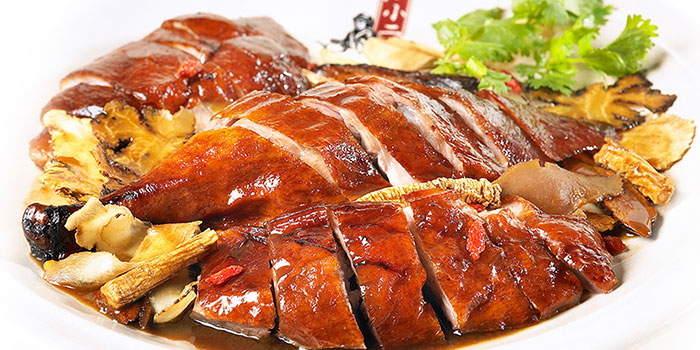 Herbal Roasted Duck from Dian Xiao Er (Lot One) in Choa Chu Kang, Singapore