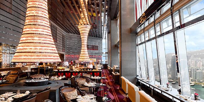 Dining Area of The Lounge & Bar, Tsim Sha Tsui, Hong Kong
