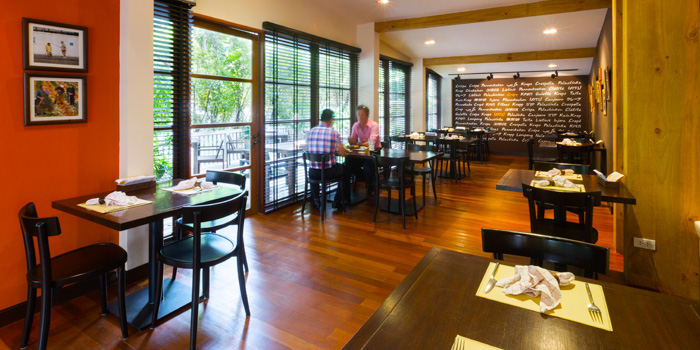 Dining Area from Crepe & Co in Langsuan Soi 1 Ploenchit Road, Bangkok