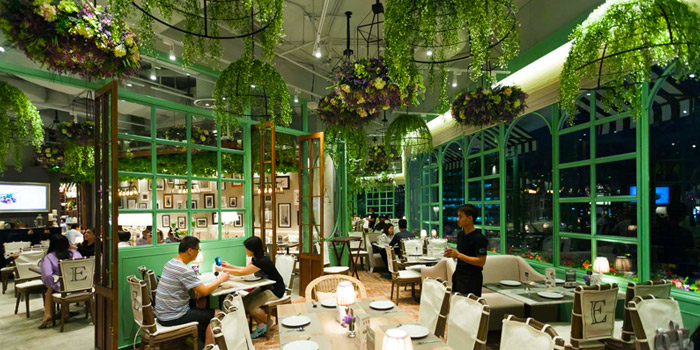 Dining Tables  from  Audrey Cafe des Fleur at The EmQuartier, Bangkok